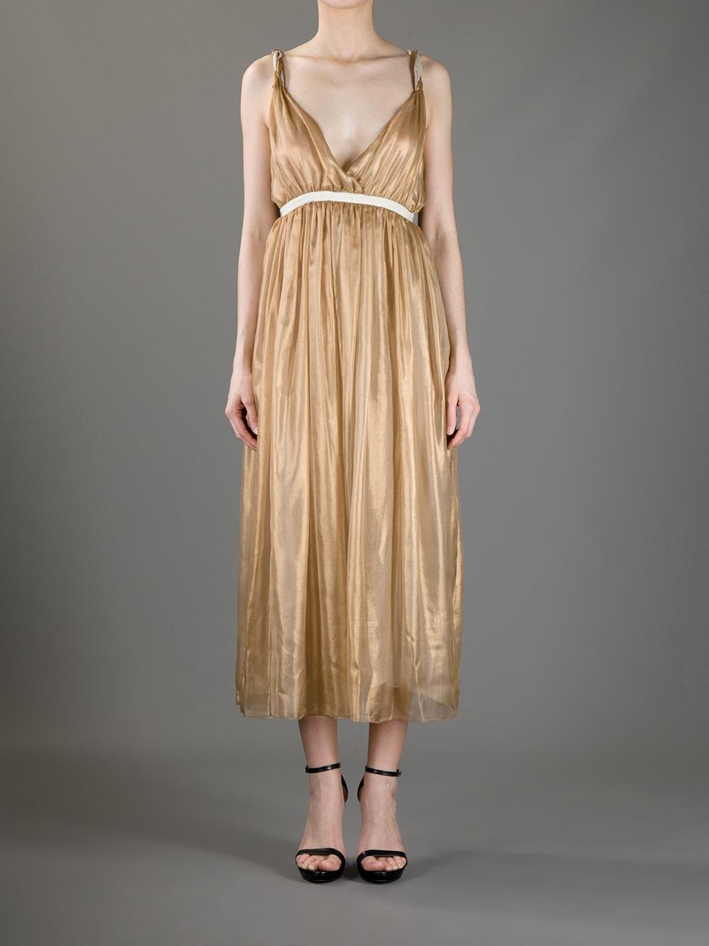 Silk dress Forte_Forte M3ZxljHuM