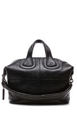Givenchy Nightingale Medium Grainy Leather in Black - Lyst