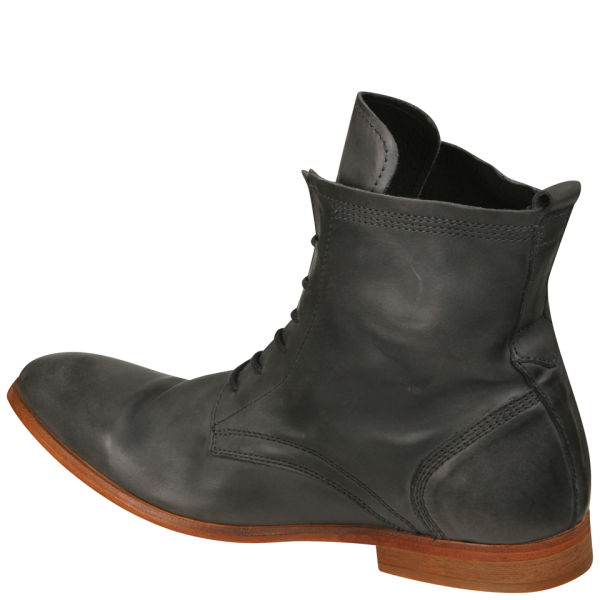 Hudson Gray Mens Swathmore Calf Leather Boots For Men Lyst