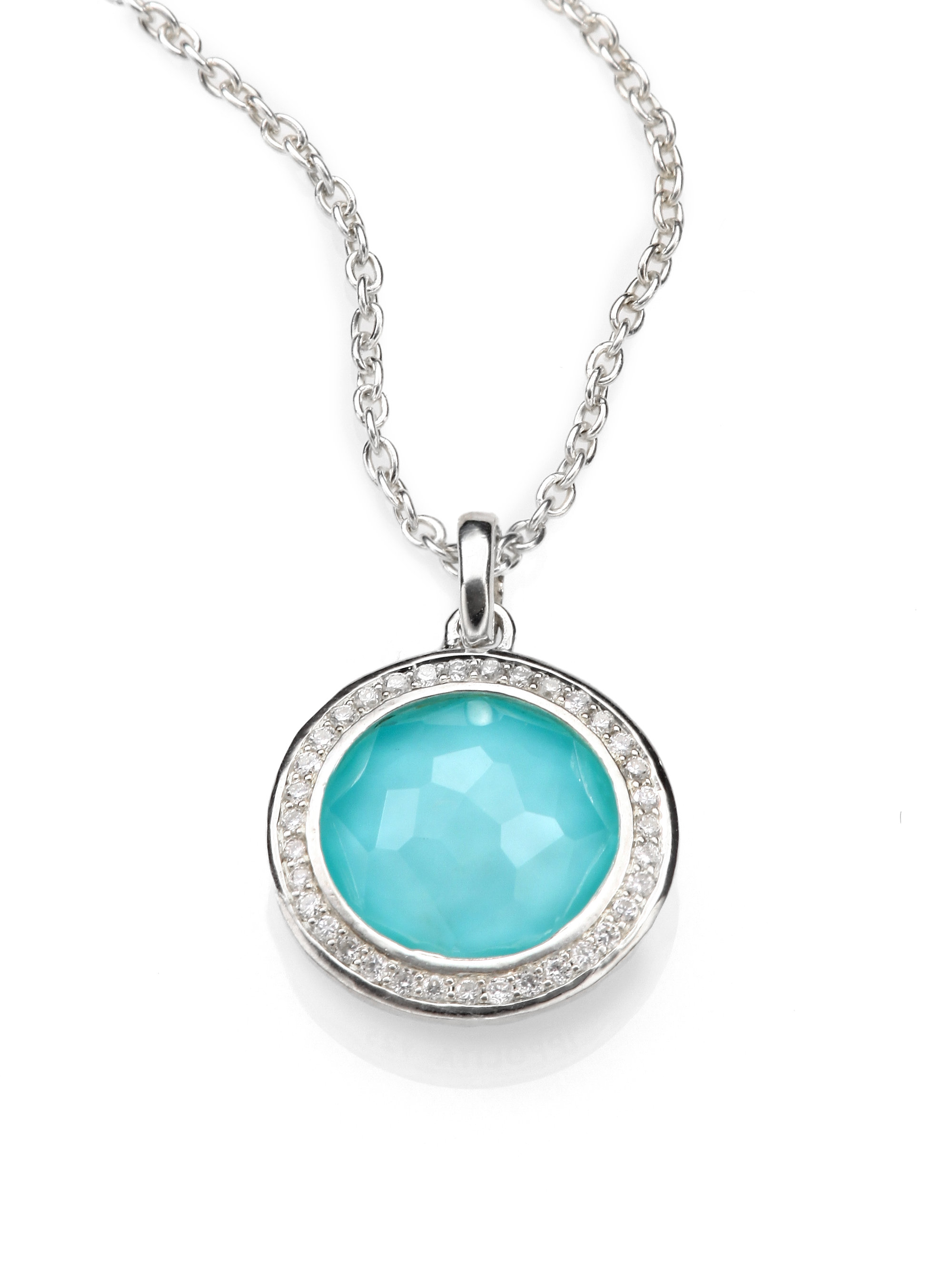 ippolita turquoise doublet sterling silver