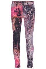 J Brand Printed Leggings - Lyst