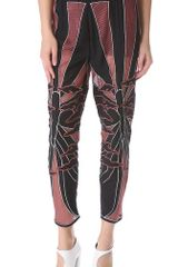 Kelly Wearstler Embroidered Butterfly Pants - Lyst