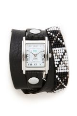 La Mer Collections Guatemala Wrap Watch - Lyst