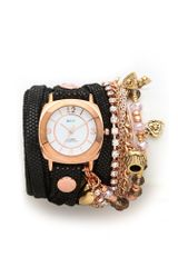 La Mer Collections Champagne Multi Chain Wrap Watch - Lyst