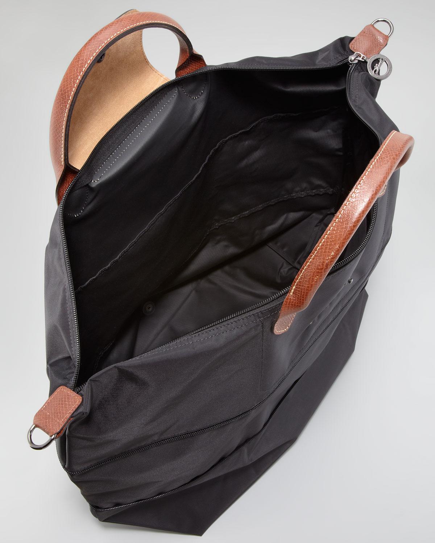 Lyst Longchamp Le Pliage Monogrammed Expandable Travel