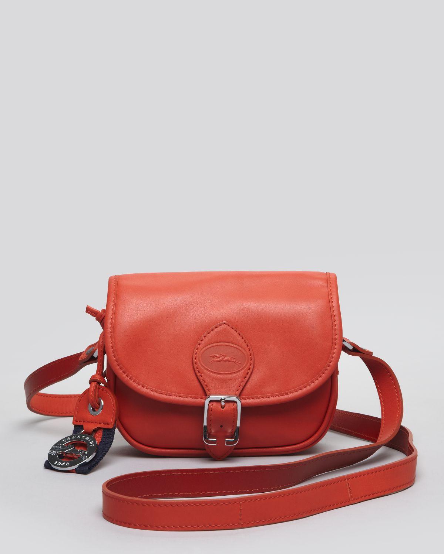 62d922e05651 Lyst - Longchamp Cross Body Bag Sultan in Red