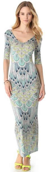 Mara Hoffman Feather Crisscross Cover Up Dress - Lyst