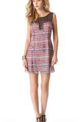 Mara Hoffman Combo Shift Dress - Lyst