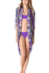 Mara Hoffman Frida Cocoon Cover Up - Lyst