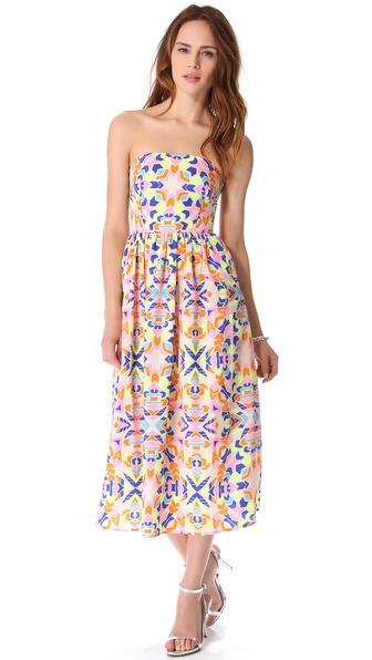 Mara hoffman Strapless Sun Dress  Lyst