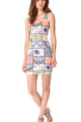 Mara Hoffman Quilts Mini Cover Up Dress - Lyst