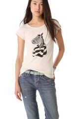 Marc By Marc Jacobs Mr Zebra Tee - Lyst