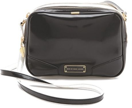 Marc By Marc Jacobs Alley Katz Two Tone Bunny Bag in Black - Lyst