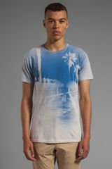 Marc By Marc Jacobs Boardwalk Tee in Blue - Lyst