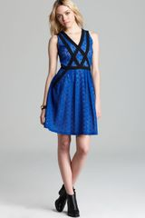 Marc By Marc Jacobs  Collage Lace Color Block Dress - Lyst