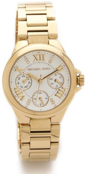 Michael Kors Camille Mini Chronograph Watch - Lyst