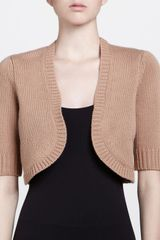 Michael Kors Half Sleeve Shrug  - Lyst