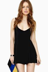 Nasty Gal Coven Zip Romper - Lyst
