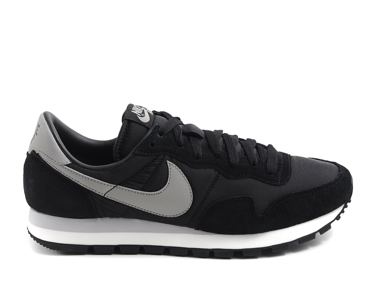 nike air pegasus 83 black in black for men lyst. Black Bedroom Furniture Sets. Home Design Ideas