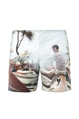 Orlebar Brown Roadtrip Print Swim Shorts - Lyst