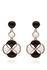 Oscar de la Renta Two-Stone Post Earring - Lyst