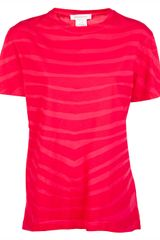 Pierre Balmain Striped Tshirt - Lyst
