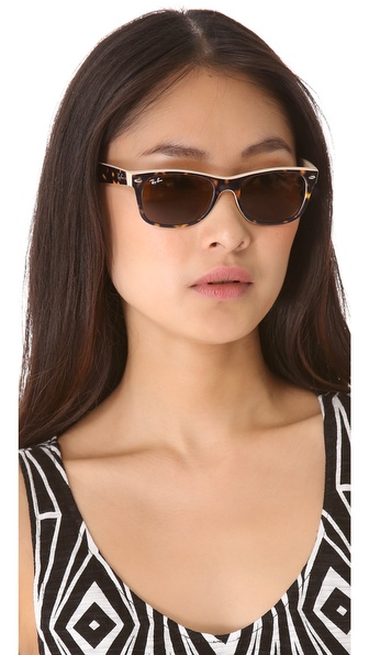 ... ray ban unisex large new wayfarer sunglasses ...