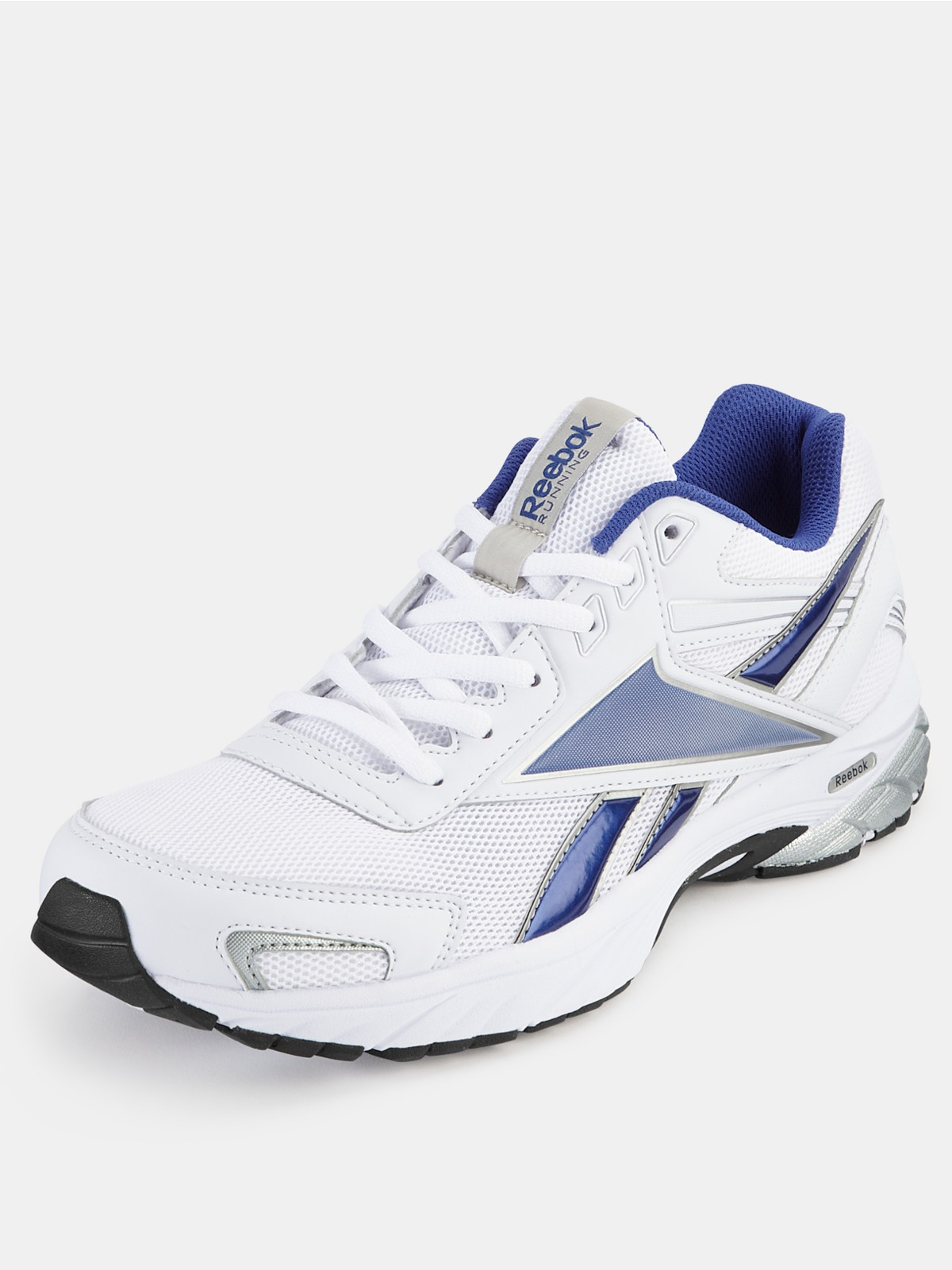 reebok carthage 30 mens trainers in white for white