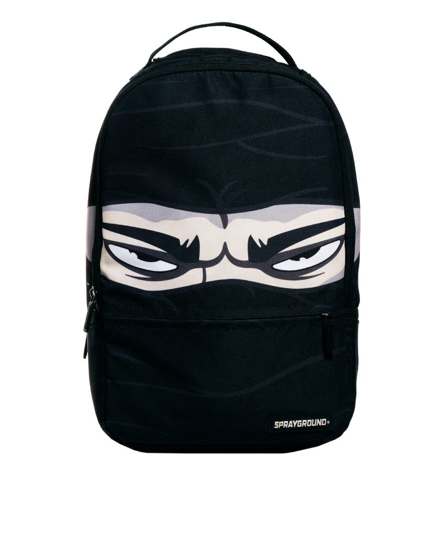 Sprayground Ninja Backpack in Black for Men