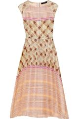 Suno Printed Silk Organza Maxi Dress - Lyst
