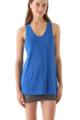 T By Alexander Wang Classic Tank with Pocket - Lyst