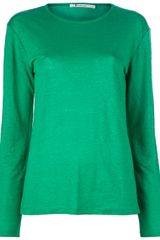 T By Alexander Wang Long Sleeves Top - Lyst