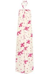 Temperley London Laetitia Printed Silk crepe Dress - Lyst