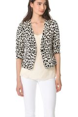Thakoon Addition Angry Leopard Blazer - Lyst