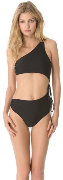 Thayer Side Tie Bikini Swimsuit - Lyst