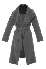 The Row Magdalena Felted Wool Coat - Lyst