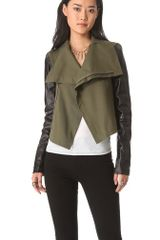 Veda Max Army Leather Jacket - Lyst