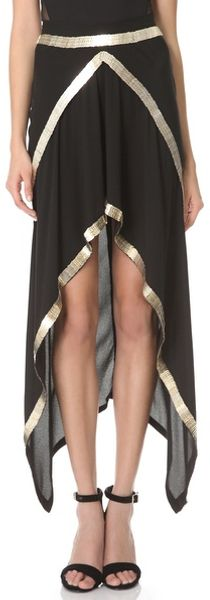 Willow Metal Spine Skirt - Lyst