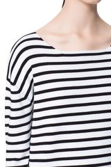 Zara Striped Sweater in Black (Black / White) - Lyst