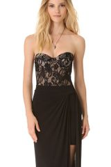 Zimmermann Independent Lace Bustier Bodysuit - Lyst