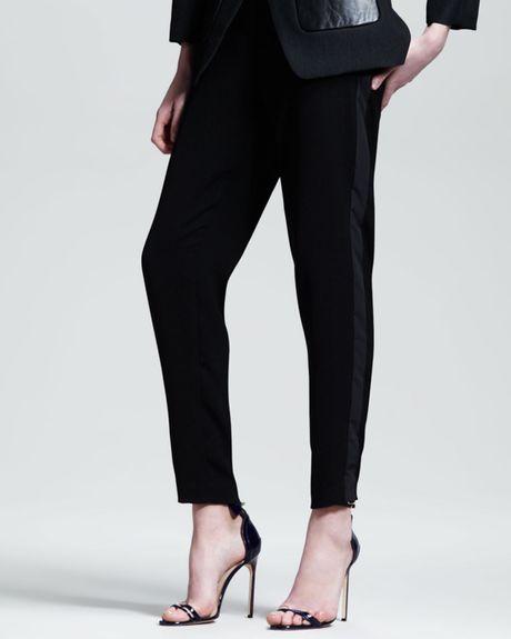 Elegant Annalee Amp Hope Women39s Black Tuxedo Pants  Overstockcom