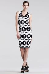 Altuzarra Dust Ikatprint Jersey Dress