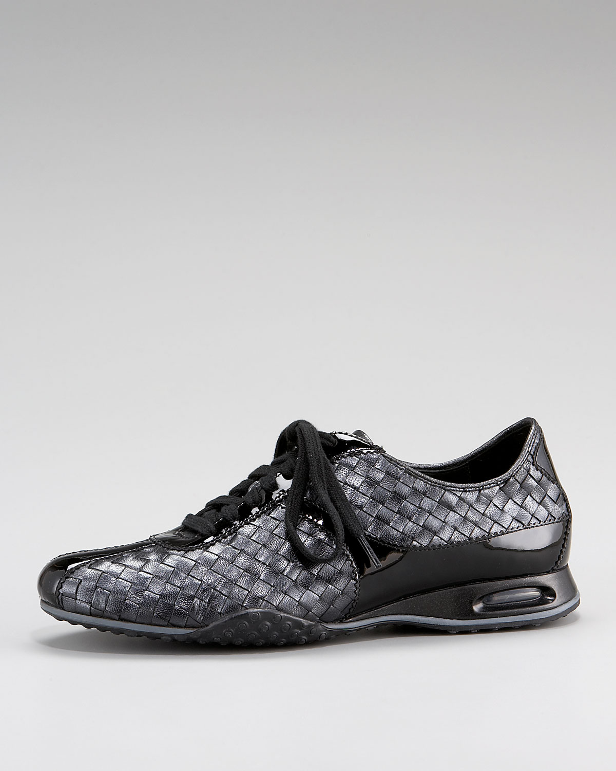 Cole Haan Womens Air Bria Woven Oxford In Black Lyst