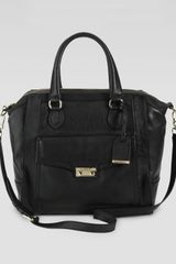 Cole Haan Zoe Structured Satchel Bag - Lyst