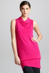 Donna Karan New York Asymmetric Convertible Tunic - Lyst