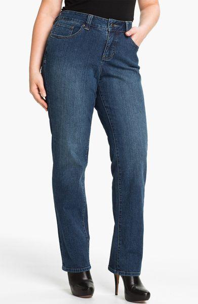 Jag Jeans Madison Straight Leg Jeans in Blue (Dockside Blue)   Lyst
