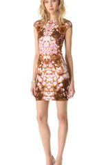 McQ by Alexander McQueen Cap Sleeve Dress - Lyst