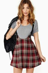 Nasty Gal Dropout Suspender Skirt - Lyst