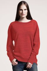 Rag & Bone Oversized Terry Top - Lyst