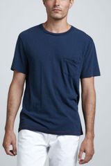 Rag & Bone Basic Pocket Tee - Lyst